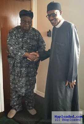 More Photos: Pres. Buhari receives the Awujale of Ijebu Kingdom in London